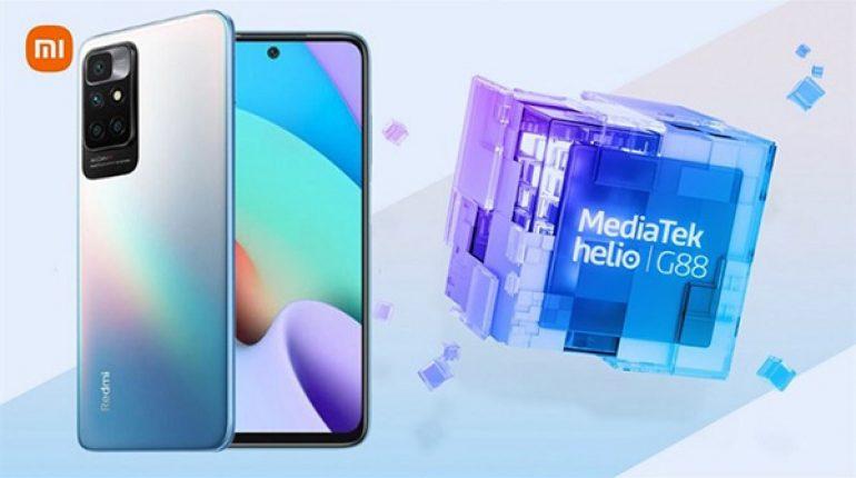 Cấu hình Xiaomi Redmi 10 nâng cấp khi trải nghiệm chip Helio G88