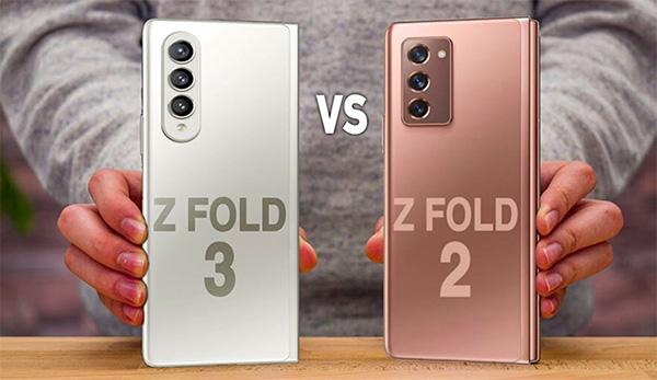 SS Galaxy Z Fold3 trông không khác gì nhiều so với Galaxy Z Fold2